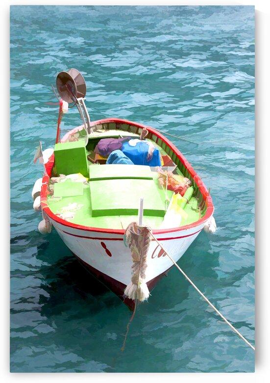 Manarola Boat by Edgar Serrano