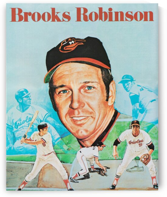 1974 Brooks Robinson Poster by Row One Brand