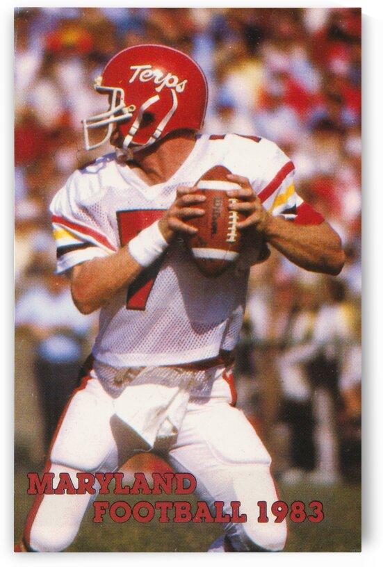 1983 Maryland Football Boomer Esiason by Row One Brand