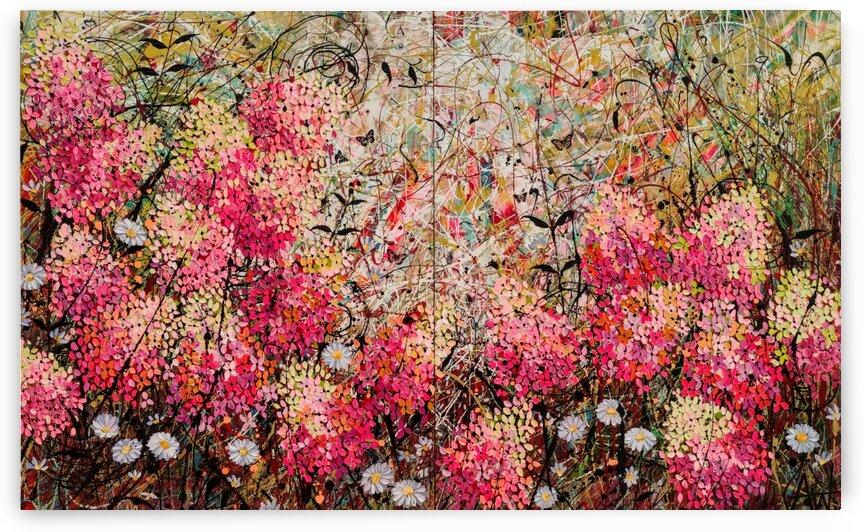 Strawberry Sundae  by Angie Wright Art