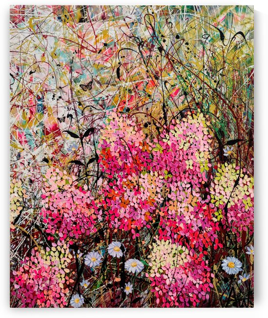Strawberry Sundae Panel 2 by Angie Wright Art