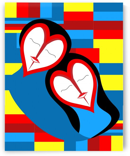 Hearts in Love by Edgar Serrano