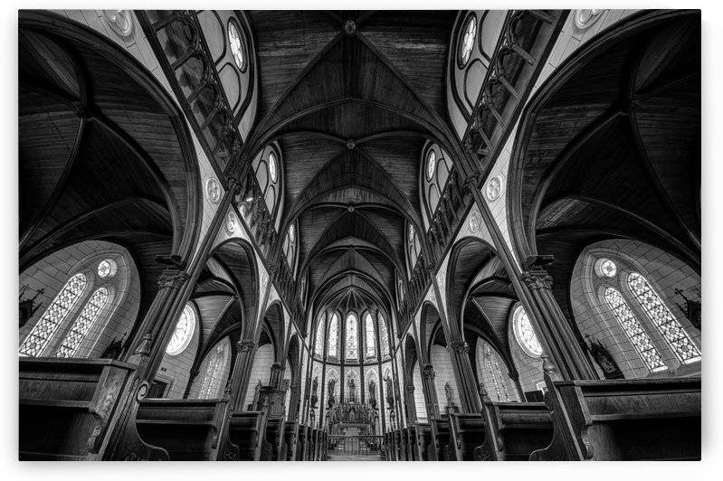 Cathedral by Tomoshi Hara  by 1x