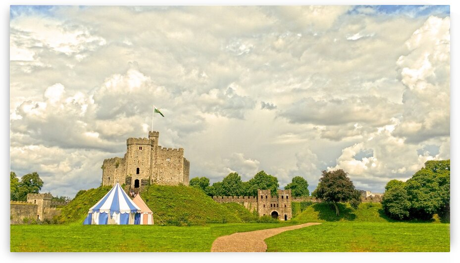 Cardiff Castle by 1North
