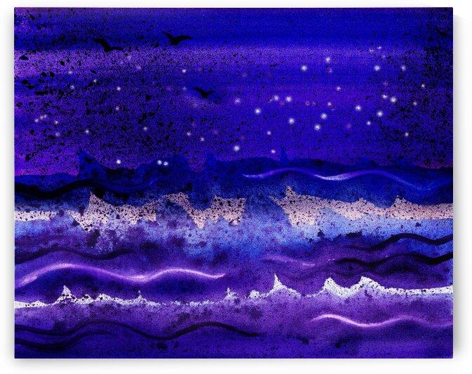 Sea Ocean Waves Coastal Beach House Nautical Decor XX by Irina Sztukowski