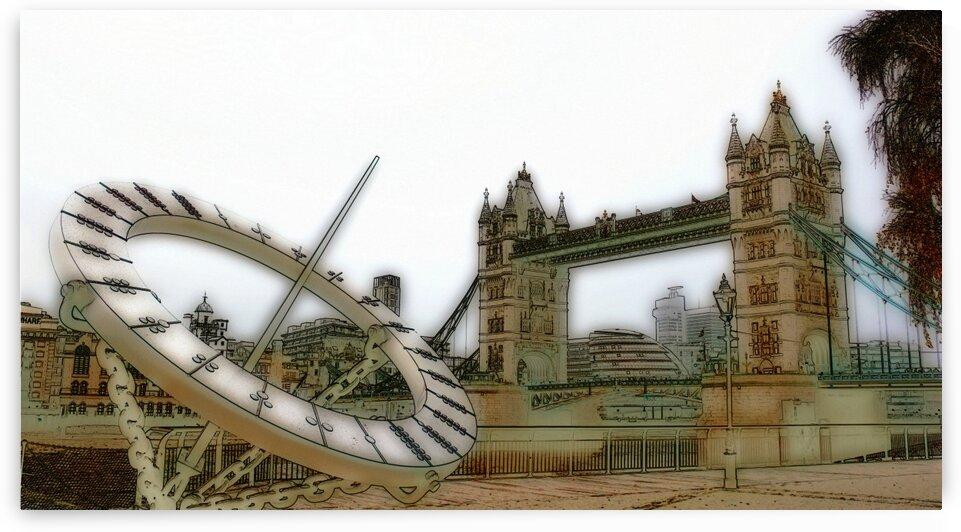 London fine art  - Tower bridge by Bentivoglio Photography