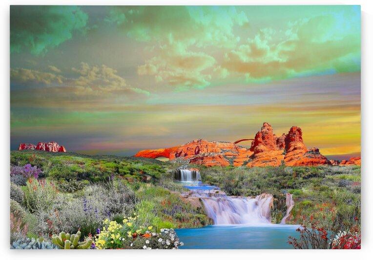 DESERT ARCH 2 by E D Killion