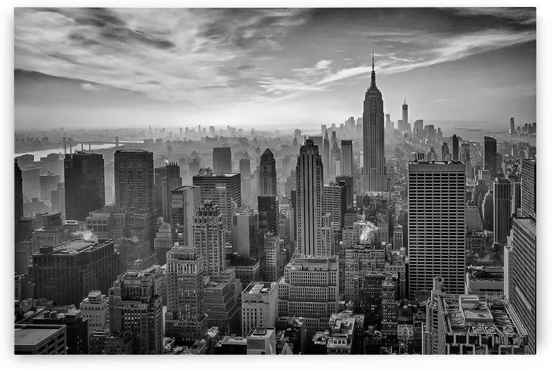Hazy Gotham by Stefan Schilbe  by 1x
