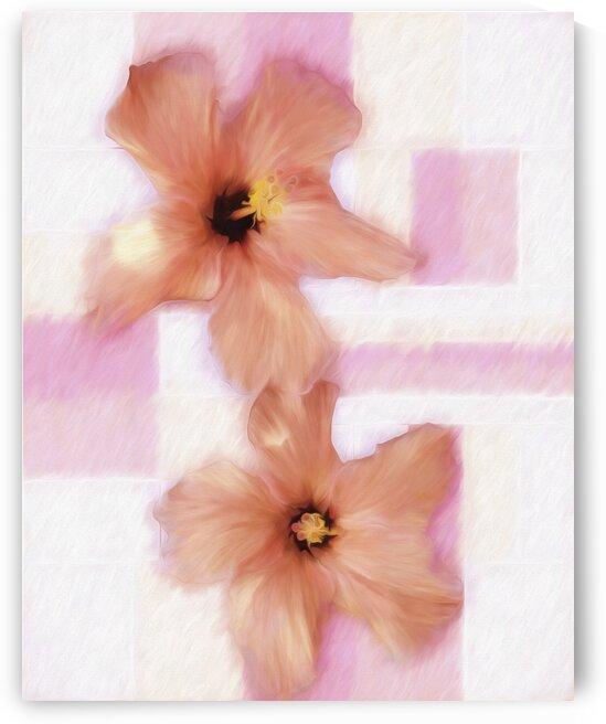 Flowers  in Pink Hazd by Edgar Serrano