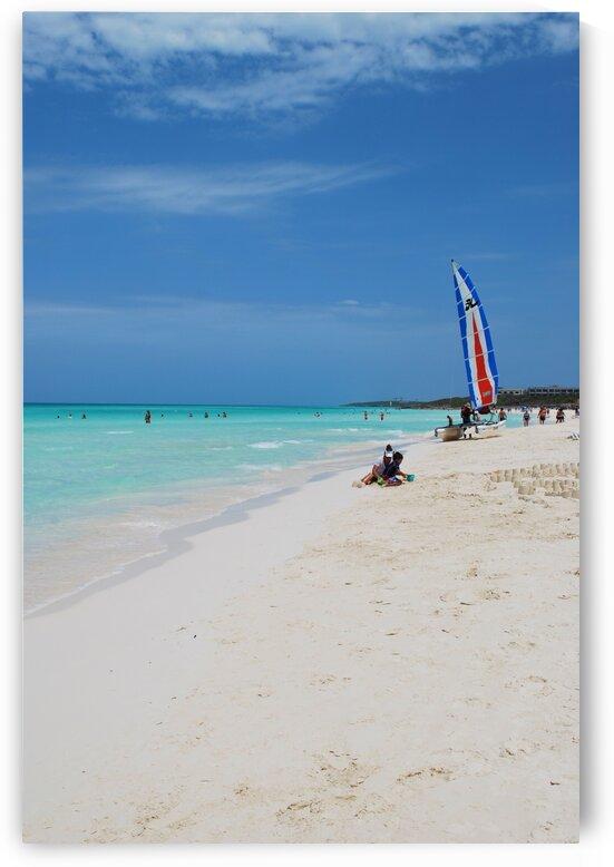 White Beach-Sport by Lynn Prudhomme Mills