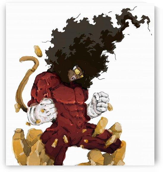 KING JEETA-- SUPER NUBIAN 3  by BeFree Illustrations