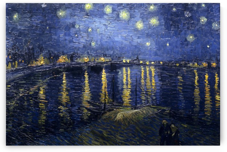 Starry Night Over the Rhone by Van Gogh by Van Gogh