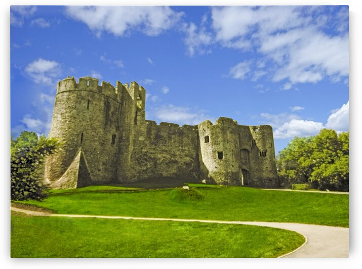 Chepstow Castle 1 of 2 by 360 Studios
