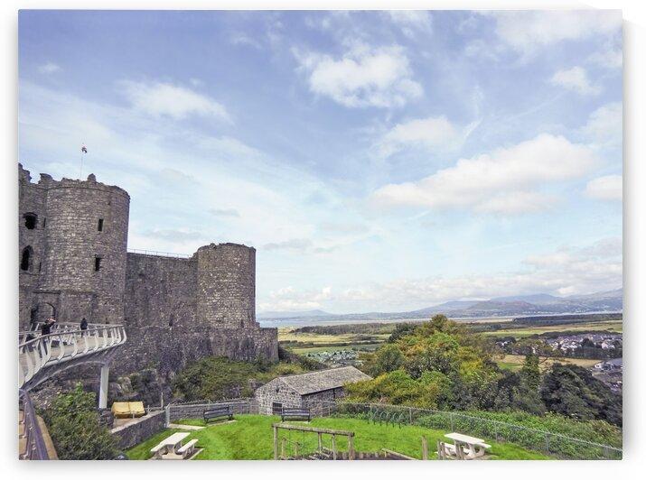 Aberystwyth Castle Wales by 24