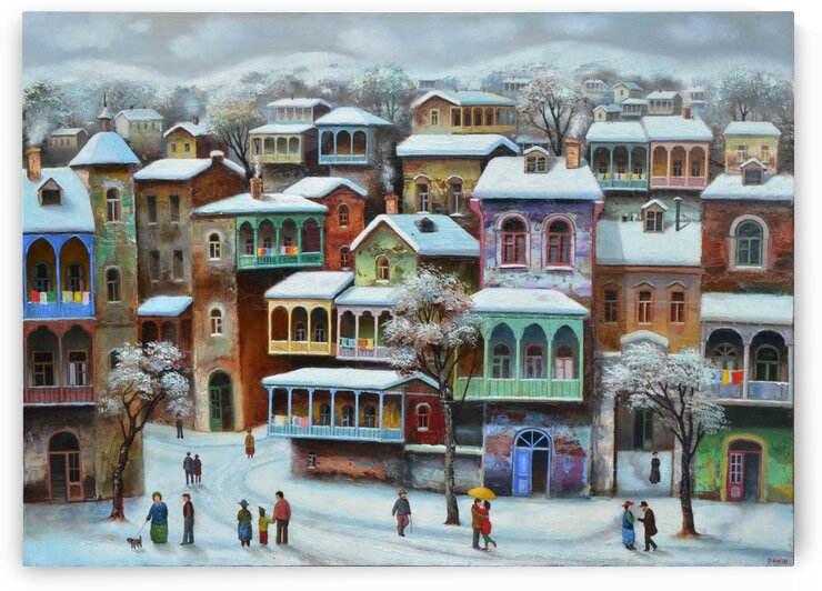Winter Tbilisi by David Martiashvili