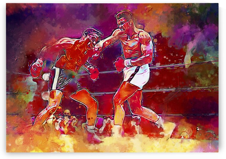 THE G.O.A.T -- MUHAMMAD ALI by BeFree Illustrations