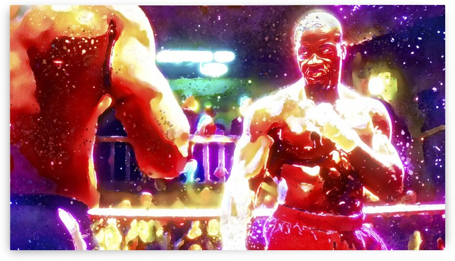 MICHAEL JAI WHITE - THE MARTIAL DON by BeFree Illustrations
