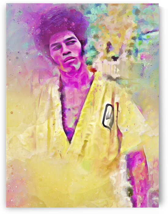 JIM KELLY -- SUPREME MASTER by BeFree Illustrations