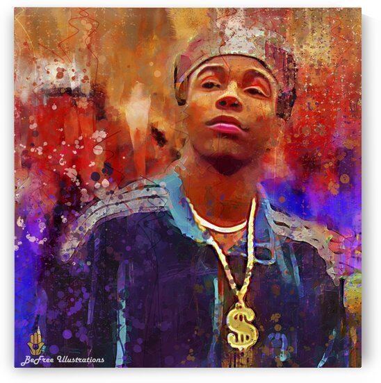ALLEN PAYNE -- GEE MONEY by BeFree Illustrations