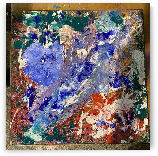 Milky Way  Acryl on Canvas 50x50 by SA Colour Creations