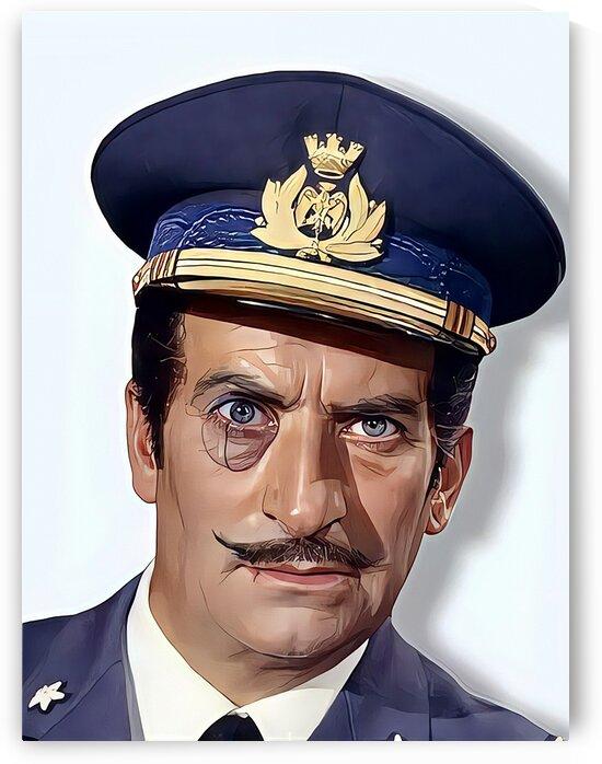 Louis de Funes French Actor by Vincent