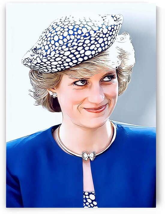 Diana Princess of Wales by Vincent