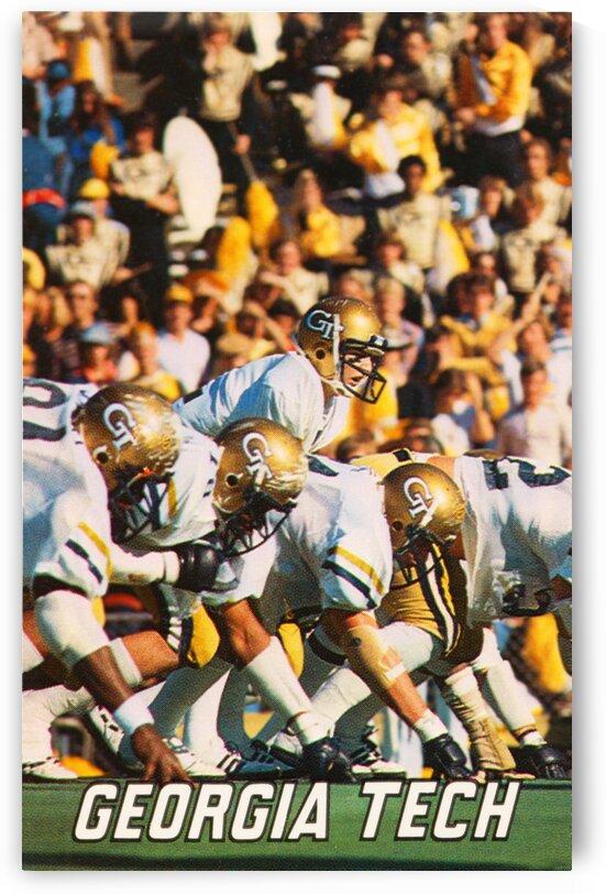 1979 Georgia Tech Football Art by Row One Brand
