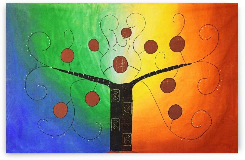 Tree in light by Shankari