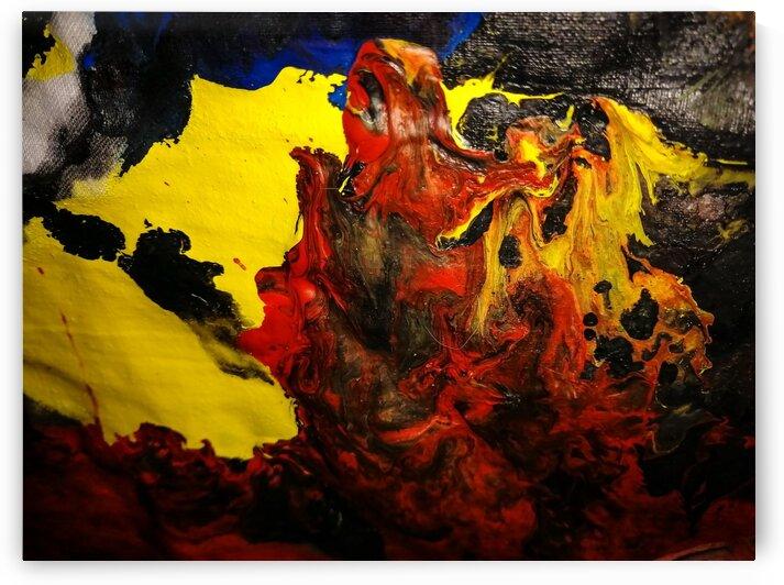 Fire dog by Shankari