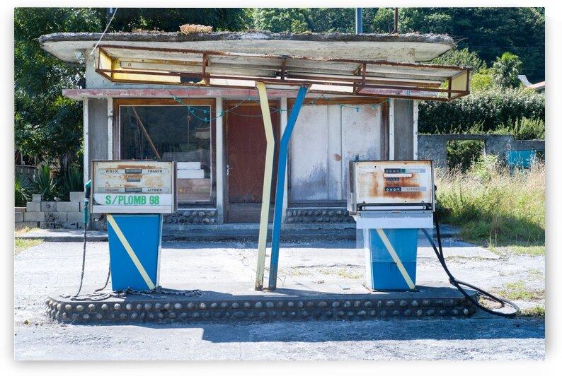 NATURE REPREND SES DROITS - Station Service 002 by patricia huchot boissier