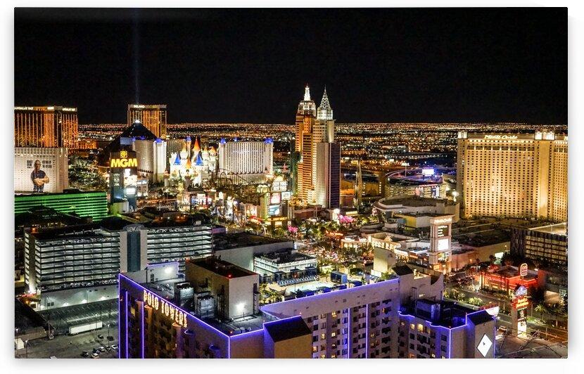 Las Vegas at Night by 1North
