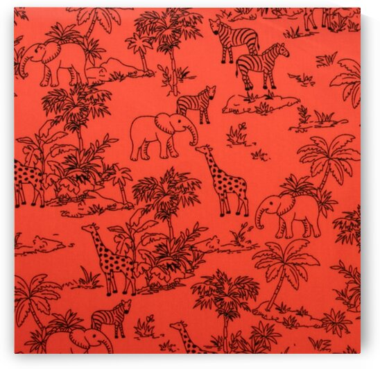 Jungle - Orange by Mutlu Topuz