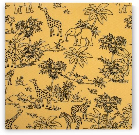 Jungle - Yellow by Mutlu Topuz