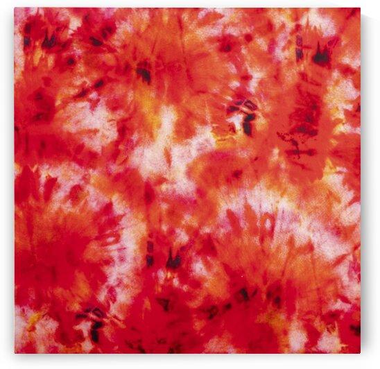Tie-dye - Red by Mutlu Topuz