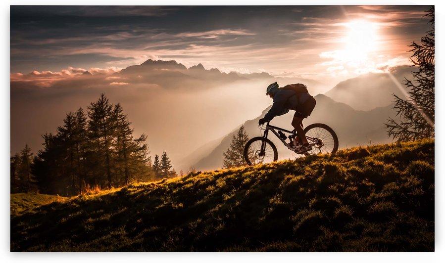Golden hour biking by 1x