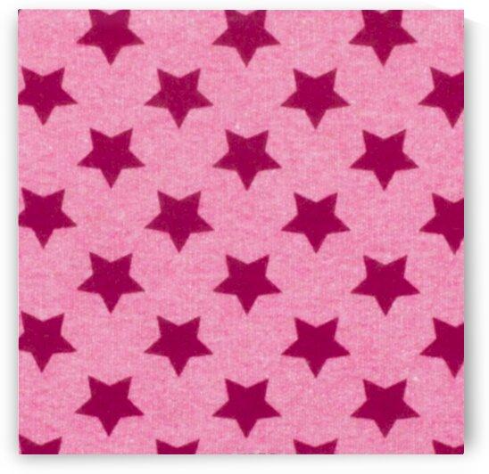 Stars - Pink by Mutlu Topuz