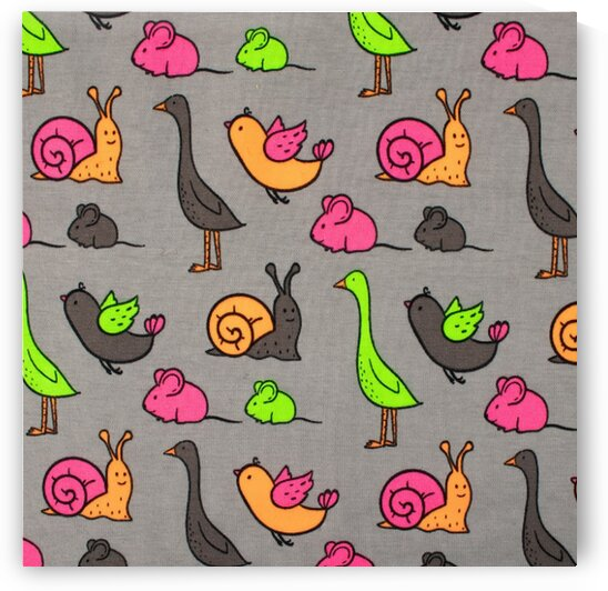 Snails - Grey by Mutlu Topuz