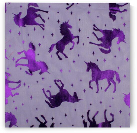 Unicorn - Purple by Mutlu Topuz