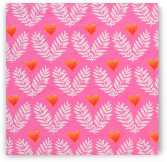 Heart - Pink by Mutlu Topuz