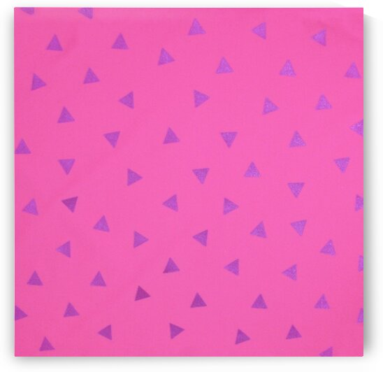 Triangle - Candy Pink by Mutlu Topuz