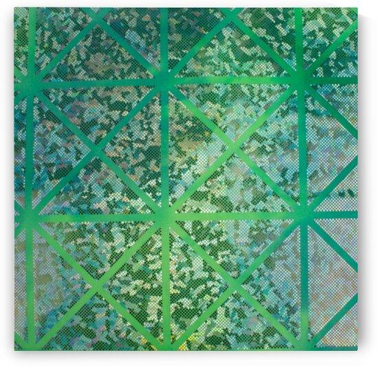 Tie Dye - Green by Mutlu Topuz
