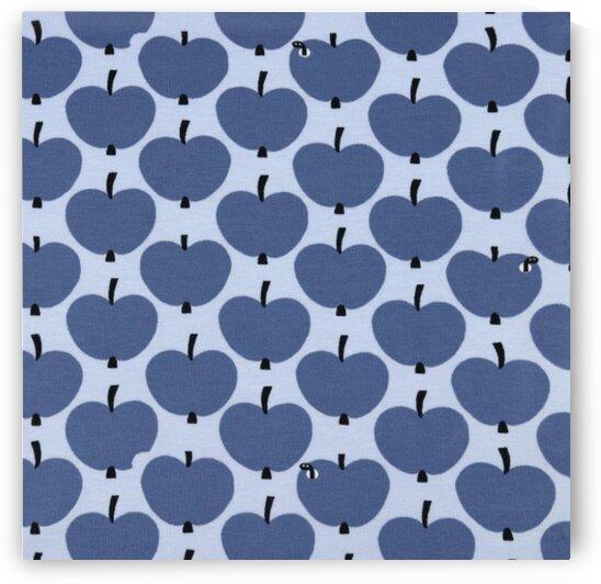 Apples - Blue by Mutlu Topuz