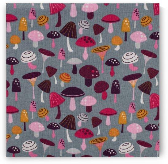 Mushroom - Grey by Mutlu Topuz
