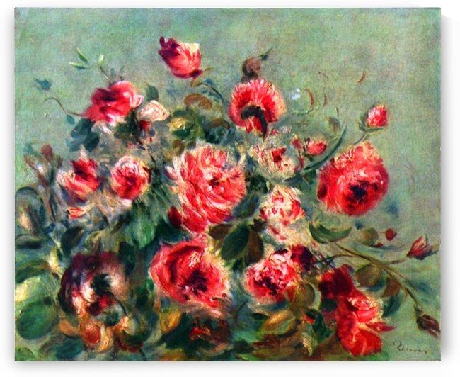 Still life roses of Vargemont by