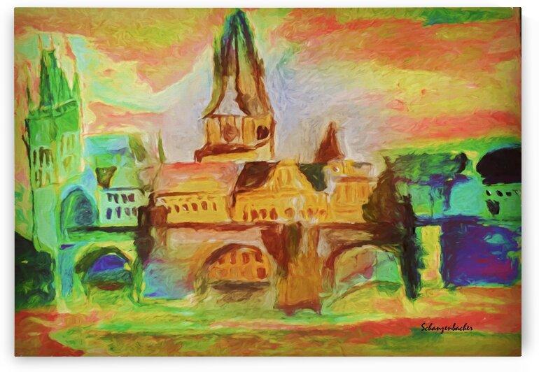St Charles Bridge  by Aurelia Schanzenbacher Sisters Fine Arts