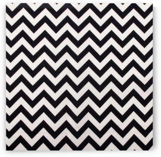 Herringbone - Black by Mutlu Topuz