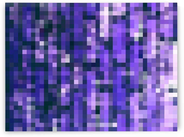 blue and purple geometric square pixel pattern abstract background by TimmyLA