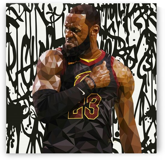 Lebron For Cleveland by Fam3Art