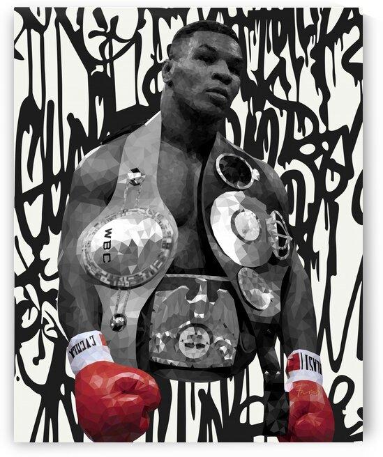 Tyson Iron Mike by Fam3Art