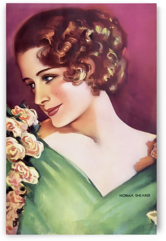 Norma Shearer Canadian-American actress by Vincent